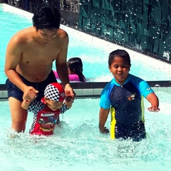 Photo taken at Mesra Hotel Swimming Pool by Indah H. on 11/23/2014
