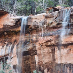 Photo taken at Emerald Pool Trail by Joshua C. on 3/25/2015