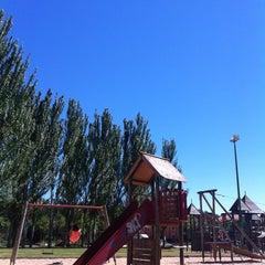 Photo taken at Parque de la Luz by Mariu on 8/10/2013