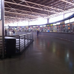 Photo taken at Terminal de Buses San Borja by Maria luisa C. on 4/28/2013