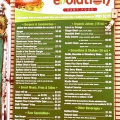 Photo taken at Evolution Fast Food by Scott L. on 7/25/2013