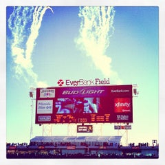 Photo taken at EverBank Field by Angel S. on 11/25/2012