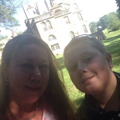 Photo taken at Fonthill Museum by Heather H. on 7/25/2015
