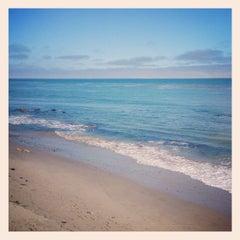 Photo taken at Malibu Public Beach by Aaron D. on 3/31/2013