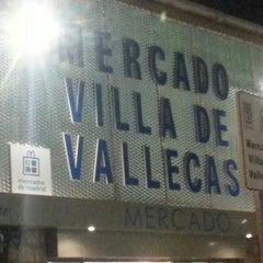 Photo taken at Mercado Villa de Vallecas by Javier F. on 12/16/2013