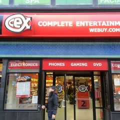Photo taken at CeX Boston by David B. on 10/26/2013