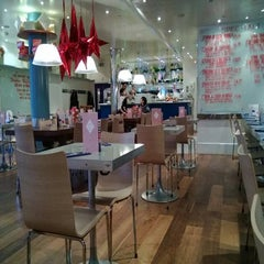 Photo taken at Carluccio's by Arjun K. on 12/10/2012