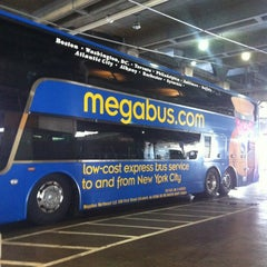 Photo taken at Megabus Stop - Washington, DC by Justin N. on 10/17/2012
