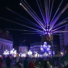 Photo taken at Place Louis Pradel by Yoann L. on 12/6/2012