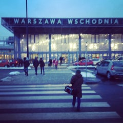 Photo taken at Warszawa Wschodnia by Anastasia L. on 3/11/2013