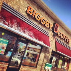 Photo taken at BIGGBY COFFEE by Paige on 1/21/2013