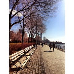 Photo taken at Hudson River Park by Kenny G. on 3/5/2013