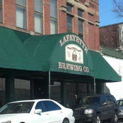 Photo taken at Lafayette Brewing Company by Mary M. on 3/8/2013