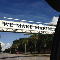 Photo taken at Parris Island, SC by Patrick S. on 8/9/2013