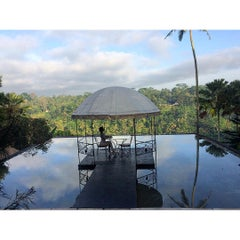 Photo taken at Kupu Kupu Barong Resort And Tree Spa by Viorika i. on 7/11/2015