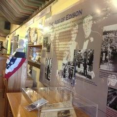 Photo taken at Edison Museum by Suleika S. on 11/19/2012