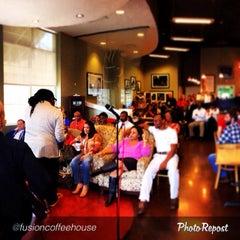 Photo taken at Fusion Coffeehouse by eZra b. on 2/24/2014