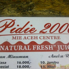 Photo taken at Mie Aceh Pidie 2000 by SoeRa L. on 12/19/2013