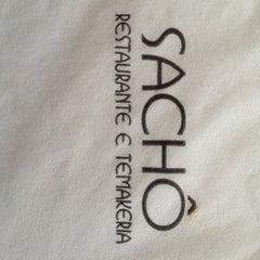 Photo taken at Sachô - Restaurante e Temakeria by Richardson Z. on 12/16/2012