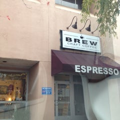 Photo taken at Brew Craft Coffee by María S. on 11/29/2012