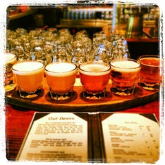 Photo taken at Moon River Brewing Company by Reshma on 7/24/2013