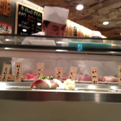 Photo taken at 魚がし日本一 新橋日比谷口店 by Hirokazu H. on 2/23/2013