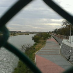 Photo taken at USA Border To Mexico by Edgar M. on 12/29/2012