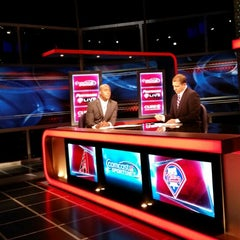 Photo taken at Comcast SportsNet Studio by Mark L. on 7/26/2014