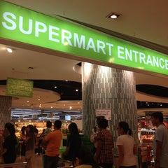 Photo taken at The Landmark Supermarket by Anne Bernadette E. on 12/16/2012