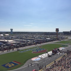 Photo taken at Charlotte Motor Speedway by Mike H. on 10/11/2015