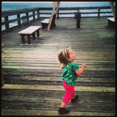Photo taken at St. Augustine Pier by Tom K. on 1/18/2013