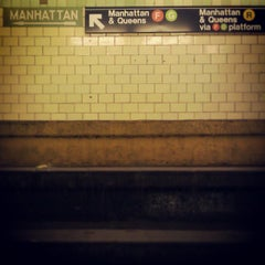 Photo taken at MTA Subway - 4th Ave/9th St (F/G/R) by Darius A. on 5/7/2013