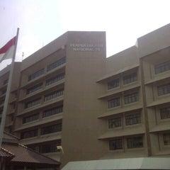 Photo taken at Perpustakaan Nasional RI by miftahur r. on 10/2/2014