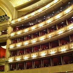 Photo taken at Wiener Staatsoper by Vee K. on 4/1/2013