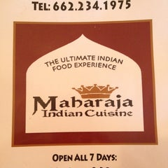 Photo taken at Maharaja by Ellen T. on 3/16/2013