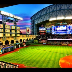 Photo taken at Minute Maid Park by Natalie V. on 5/5/2013
