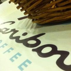 Photo taken at Caribou Coffee by jeff k. on 12/23/2012