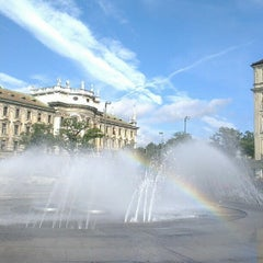 Photo taken at München by Александр С. on 10/2/2012