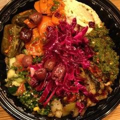 Photo taken at The Hummus & Pita Co by Elaine L. on 3/16/2013
