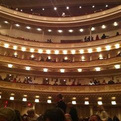 Photo taken at Carnegie Hall (Stern Auditorium/Perelman Stage) by Mark M. on 5/27/2013