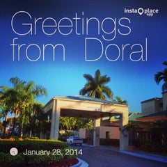 Photo taken at Courtyard by Marriott Airport West/ Doral by Angel S. on 1/28/2014