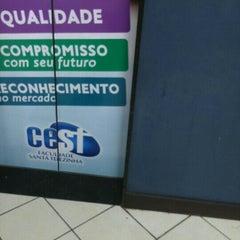 Photo taken at Faculdade Santa Terezinha - CEST by Marcelo L. on 3/28/2016