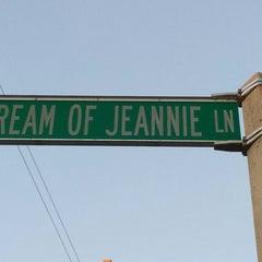 Photo taken at I Dream of Jeannie Lane by Jessie F. on 1/12/2014