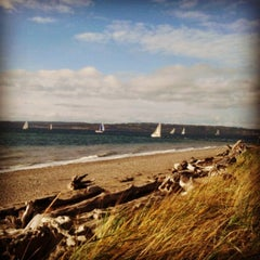 Photo taken at Discovery Park by Caroline B. on 11/16/2013