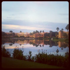 Photo taken at Disney's Coronado Springs Resort and Convention Center by Ellen M. on 10/7/2012