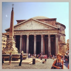 Photo taken at Pantheon by Stefano S. on 7/25/2013