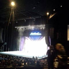 Photo taken at Gibson Amphitheatre by Pam D. on 2/24/2013