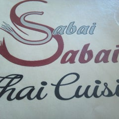 Photo taken at Sabai Sabai Thai Cuisine by Scott H. on 3/31/2013