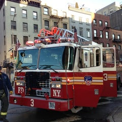 Photo taken at FDNY Ladder 3 by Jay B. on 3/29/2013
