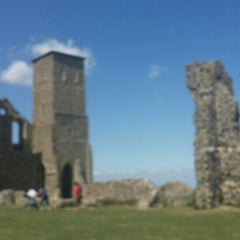 Photo taken at Reculver Towers and Roman Fort by Matthew F. on 7/19/2015